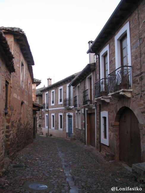 Casas de arquitectura maragata en Castrillo de los Polvazares