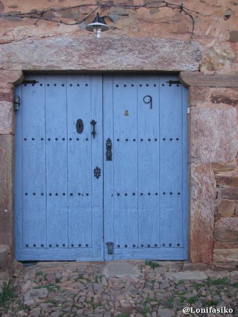 No todas las entradas a las casas maragatas tienen forma de arco