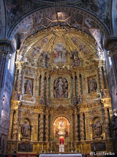 Retablo barroco de la Iglesia Parroquial de Nuestra Señora de la Asunción