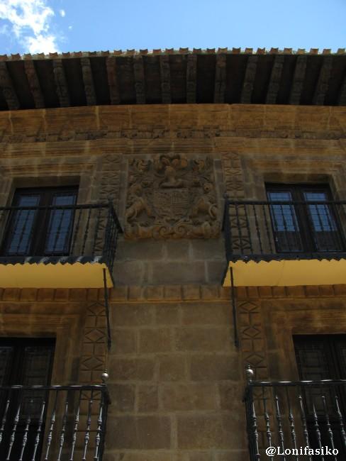 Casa solariega en la Calle Mayor de Labastida