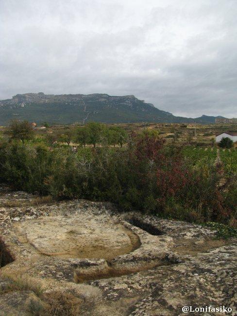 Lagar rupestre de Montebuena Norte, en Labastida