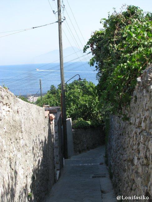 Subida desde Marina Grande a Capri