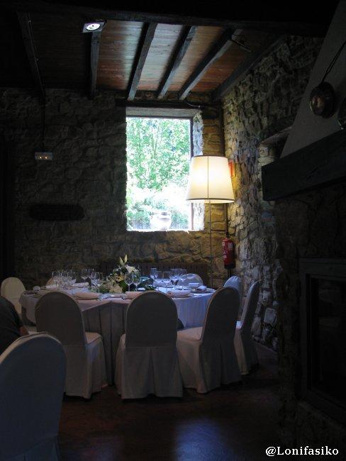 Atmósfera y clima exquisito en el Restaurante Akebaso