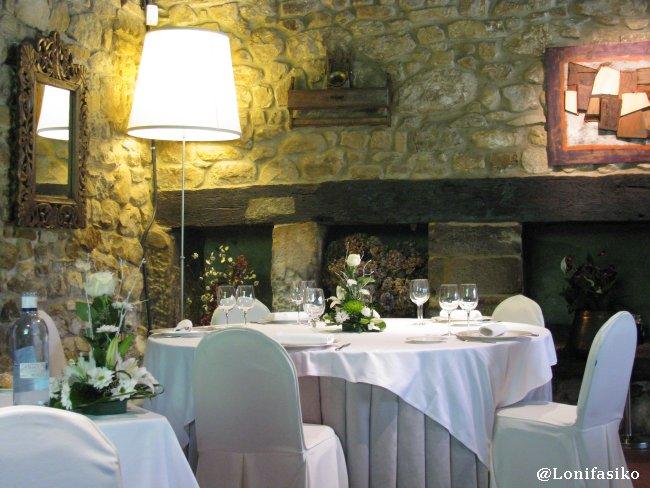 Ambiente y decoración interior en el Restaurante Akebaso