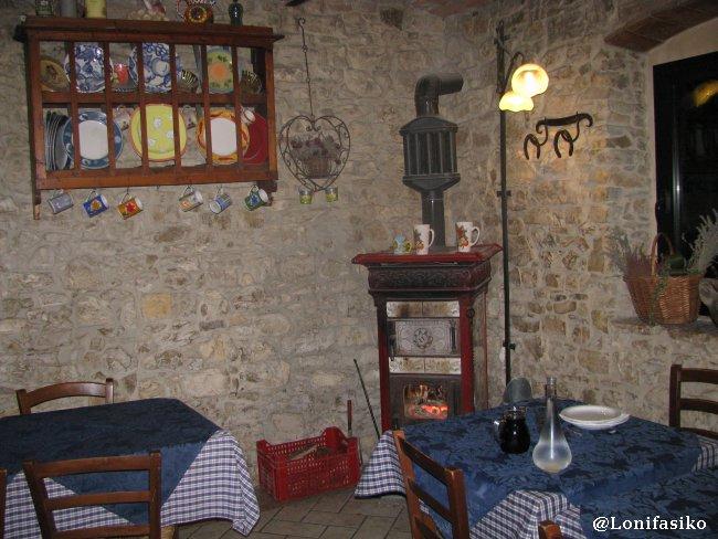 Casa rural en la Toscana