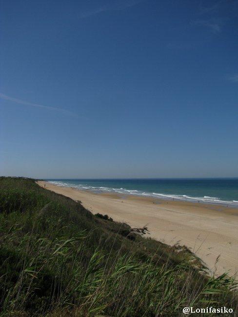 Playa de La Barrosa, en Novo Sancti Petri