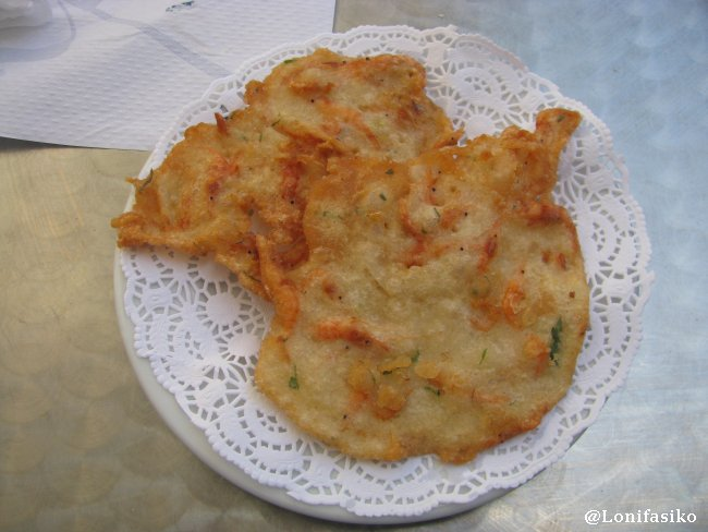 Tortita de camarones, algo que no puede faltar en tierras gaditanas