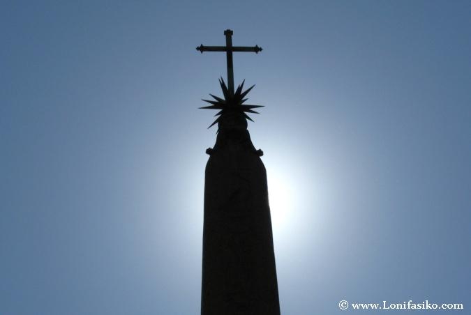 Obelisco egipcio en plazas de Roma