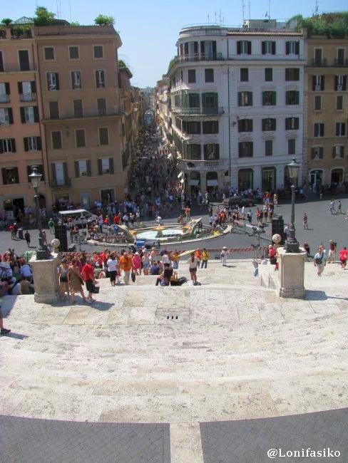 Piazza Spagna en Roma