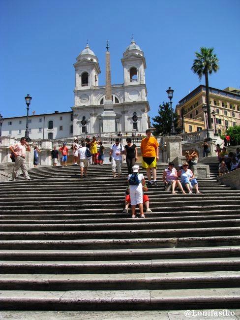 Plazas en Roma: Piazza di Spagna o Plaza España