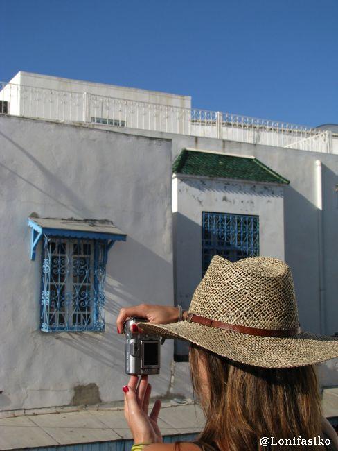 Sidi Bou Said, un lugar que incita a la fotografía