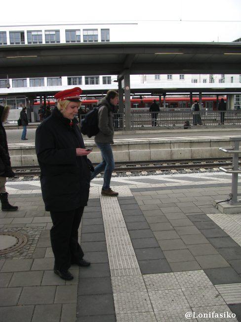 Personal de la estación de München Ost