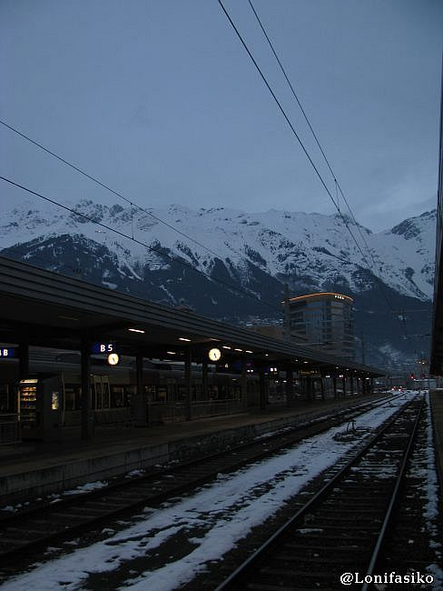 Estación central de Innsbruck