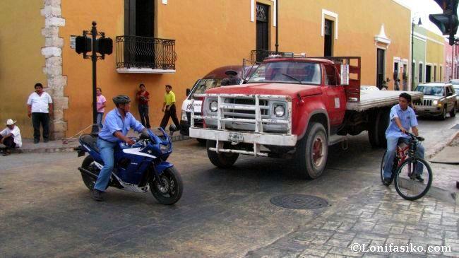 Cruces conflictivos y tráfico en el centro de la ciudad de Valladolid