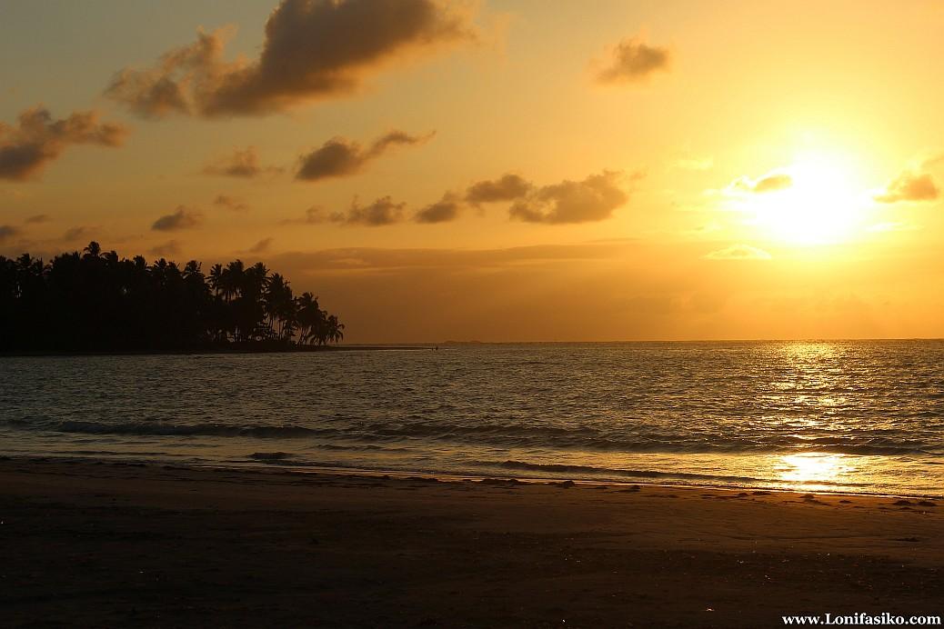 Atardecer en playas de Samaná República Dominicana Caribe