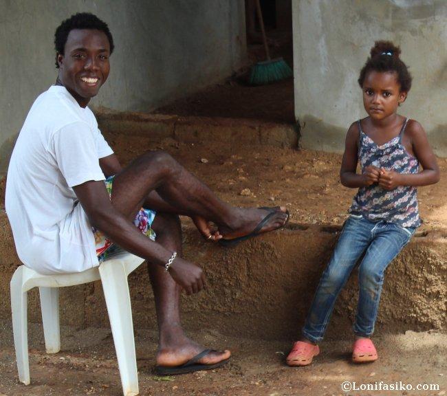 Gente de Samaná en la República Dominicana