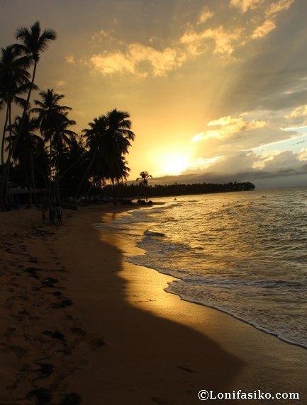 Atardecer en Samaná República Dominicana Caribe