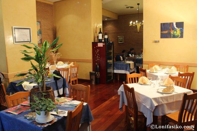 Restaurante Hilarion en Arrasate: calidad/precio en su menú especial fin de semana