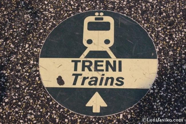 Tren desde el aeropuerto de Malpensa