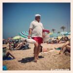 'El Camaronero', un clásico en la playa de La Barrosa