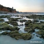 Amanecer en la zona de playa cercana a Torre Bermeja