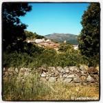 Vistas sobre Candelario, precioso pueblo de montaña en la Sierra de Béjar