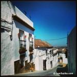 Calles empinadas en Medina-Sidonia