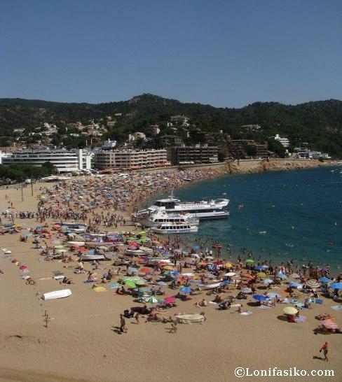 Tossa de Mar fotos playas