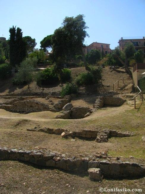 tossa de mar villa romana dels Ametllers