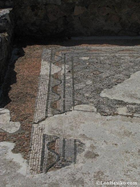 villa romana Ametllers Tossa de Mar fotos