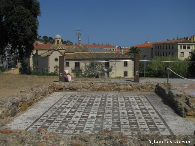 Villa romana Ametllers Tossa de Mar fotos mosaico