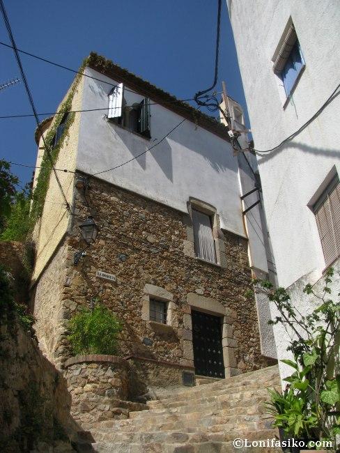 Tossa de mar castillo vila vella y villa romana ametllers for Oficina de turismo tossa de mar