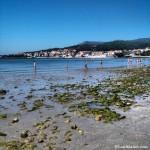 Marea baja en la Playa de Barraña de Boiro