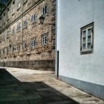 Calle con encanto en Santiago de Compostela