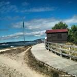 Acceso a la playa de A Retorta