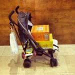 La sillita de niño como medio de transporte