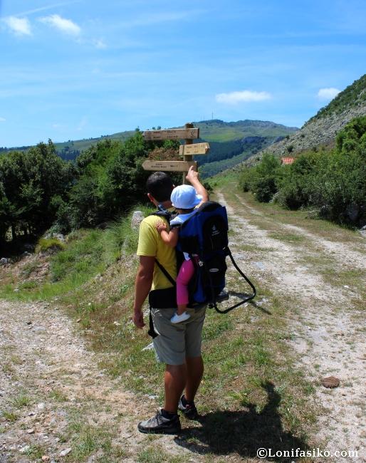 Karrantza senderismo rutas Armañón