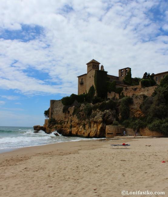 Playa y Castillo de Tamarit Altafullla Camí de Ronda