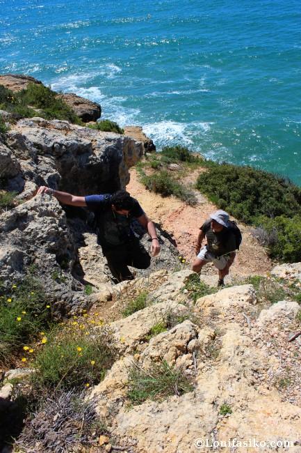 Camí de Ronda Camping Torre de la Mora Senderismo Tarragona