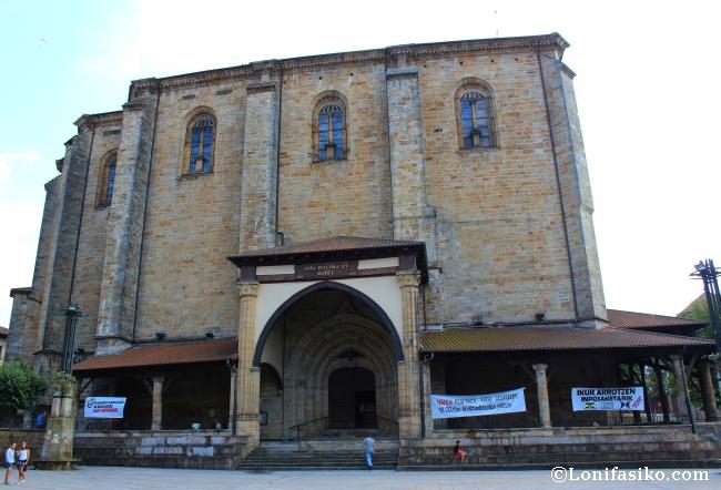 Iglesia parroquial de Elorrio, en honor a la Purísima Concepción