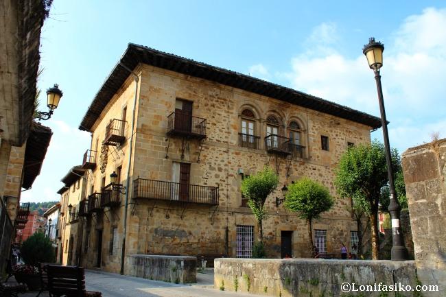 Palacio de Aldapebeitia, estilo barroco del siglo XVII