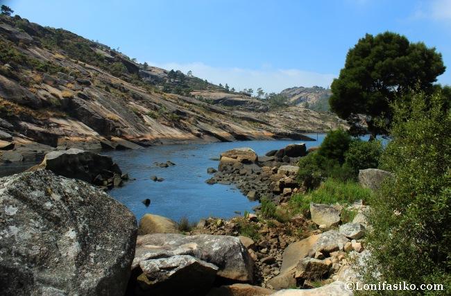 Desembocadura del Río Xallas o río Ézaro