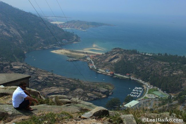 Estuario y desembocadura del río Ézaro o Xallas