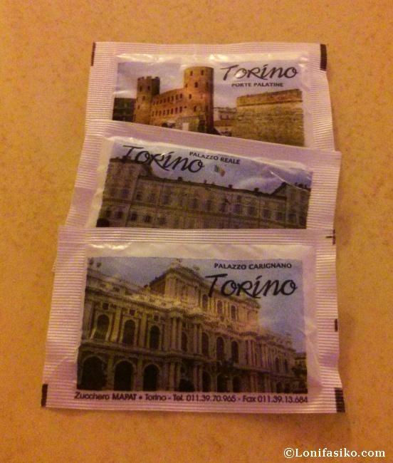 Visitando Turín a través de unos azucarillos