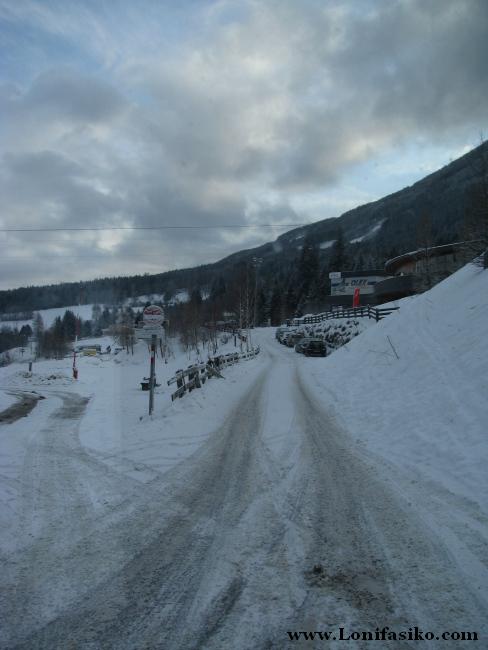 Parada de Olympiaexpress, acceso principal a la estación de esquí de Patscherkofel