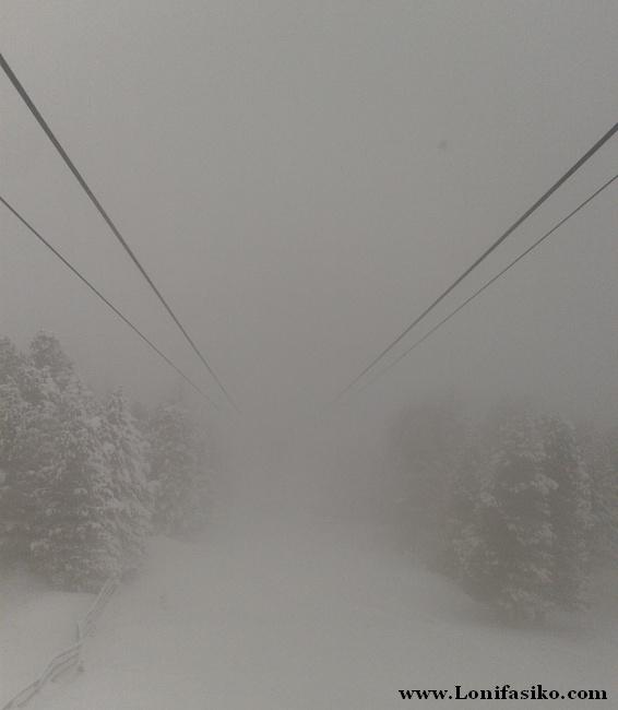 La climatología puede ser muy cambiante en todas las estaciones alpinas