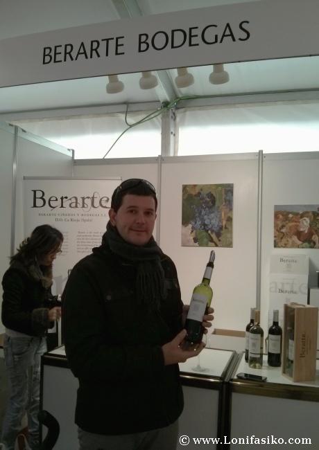 Bodegas Berarte, un gran descubrimiento de Rioja Alavesa en Ardoaraba 2013