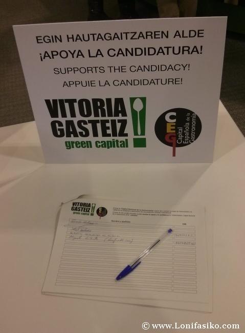 Vitoria-Gasteiz será Capital Española de la Gastronomía en 2014