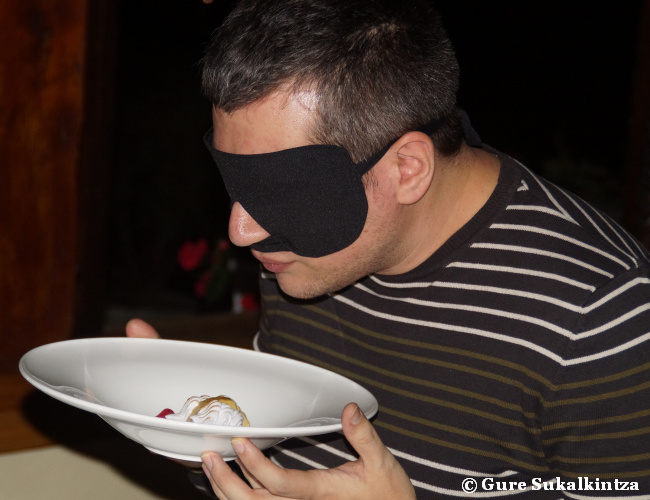 Experiencia gastronómica sensorial en el restaurante Andra Mari de Galdakao