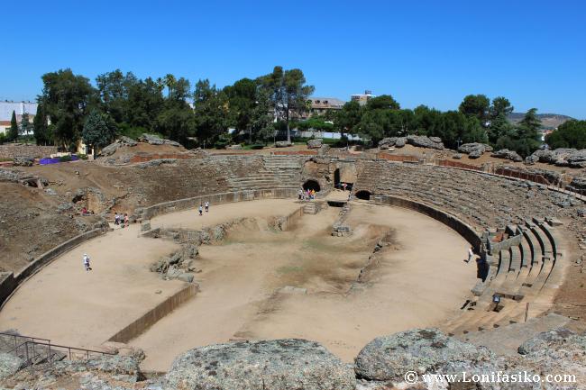 Anfiteatro romano de Mérida, la historia también ha tenido su hueco en el 2013